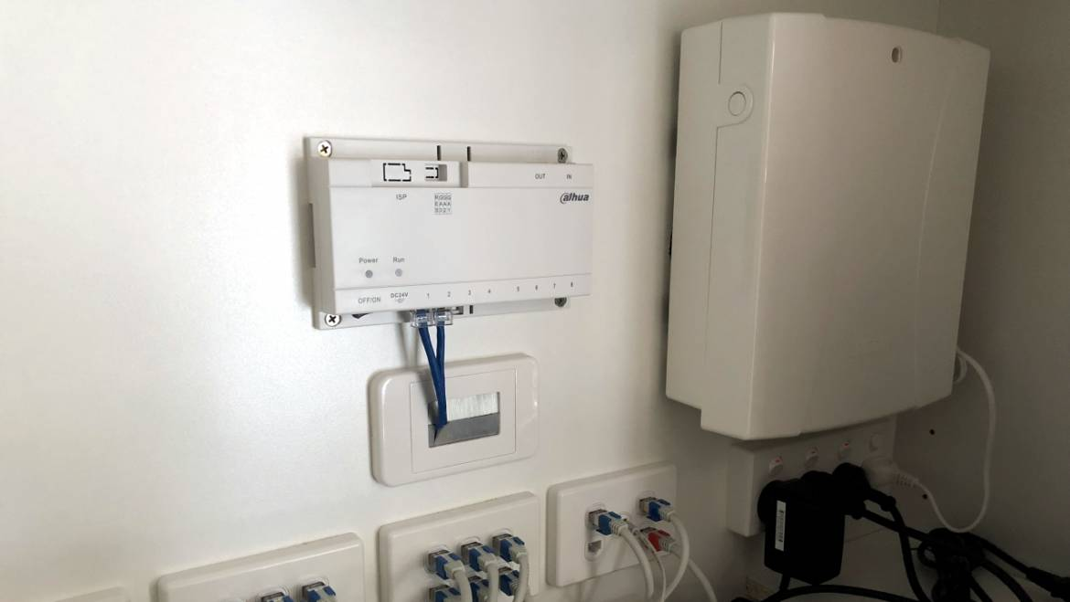 Security Alarm Installation